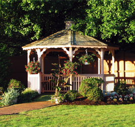Gazebo at Brentwood